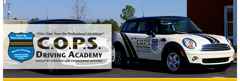 C.O.P.S Driving Academy Mini Coopers